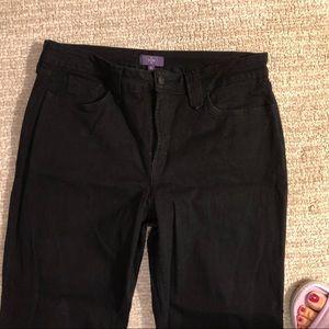NYDJ Jeans - NYDJ. 16. Black straight leg jeans